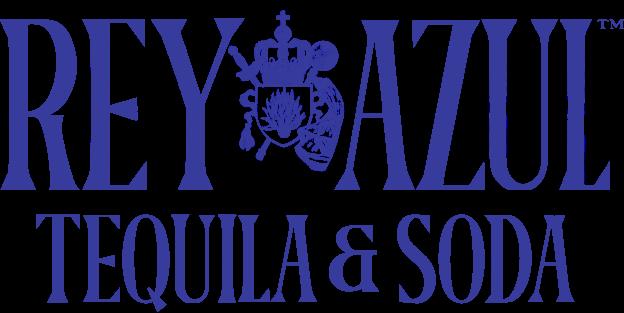 Rey Azul Tequila & Soda Logo